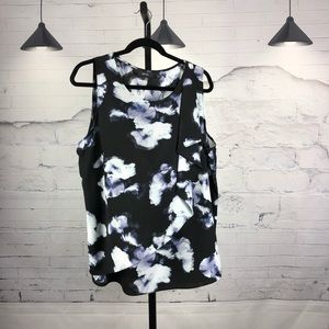 Apt. 9 Side Ruffle Floral Camisole Tank       1781
